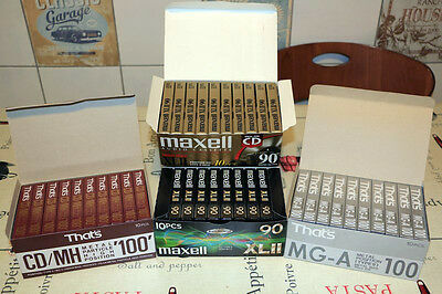 Audiocassette Musicassetta 40X That's Mga Cd/mh Maxell Xlii Nuove Sigillate