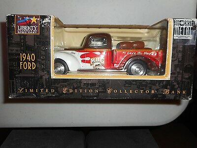 Liberty Classics 1940 Ford Die-Cast Metal Collector Bank - Mug Root Beer - NEW