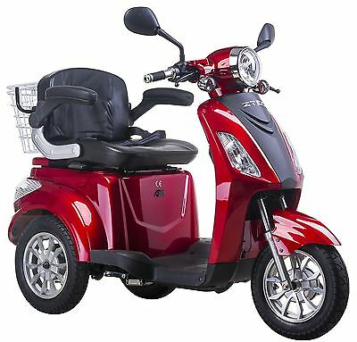 3 Wheeled ELECTRIC MOBILITY SCOOTER 48V 80AH 500W -  FAST FREE UK DELIVERY ZT15