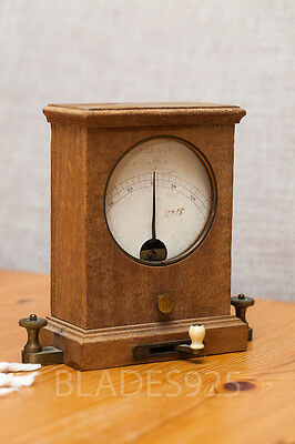 Rare swedish antique telegraph galvanometer by Oller Ericsson