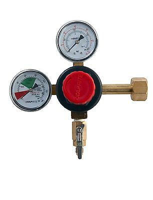 Perfect for Homebrewing Draft Beer - High Performance - CO2 Regulator Dual Gauge