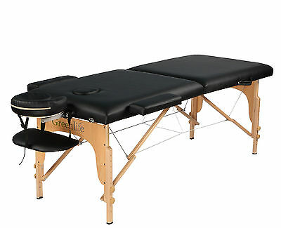 "Super Comfy Portable 2Fold Extra4"" Cushion Massage Reiki Facial Table Bed w/ Bag"