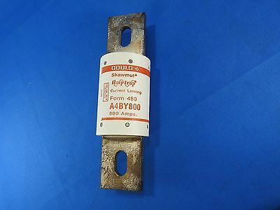 Gould Shawmut Amp-Trap Fuse A4BY800 600V 800A New Surplus