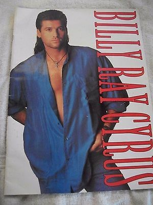 Billy Ray Cyrus Concert Program - Achy Breaky Heart U.S. tour - 1993