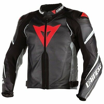 dainese super speed d1 perforated leather jacket / motorbike leather jacket