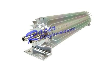 """15"""" Dual Pass Aluminum Finned Transmission Oil Cooler Universal Fit"""