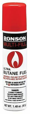 Ronson Multi-Fill Ultra Lighter Butane Fuel, 1.48 FL OZ (42 g ) Universal Tip