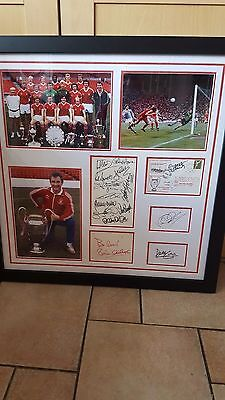 Signed nottingham forest  brian clough and european cup montage