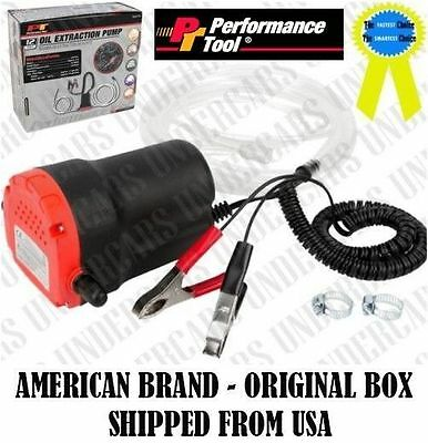 12V 5A Electric Oil Extraction Pump Fluid Extractor Transfer Suction Pump Siphon