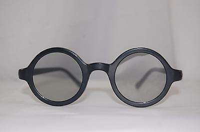 Harry Potter Wizard Costume Cosplay Black Nerd Round 3D Glasses Deathly Hallows