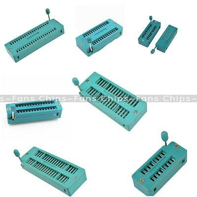 Multi-function Test Universal ZIF IC Socket 16P 20P 28P 32P 40P Body Sockets CF