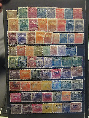 Large Nicaragua Collection 1862-1974 With Many Better Mint & Used Stamps