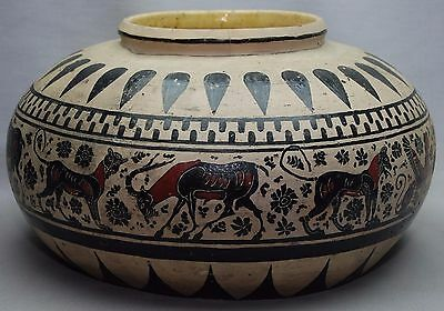 Large Ancient Greek Greece Red Black Figure Dinos Bowl Vase Pottery
