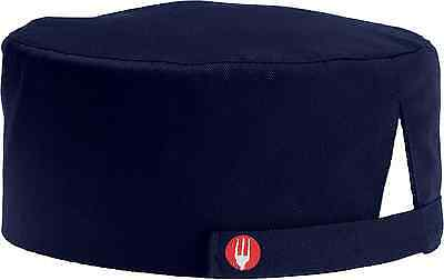Chef Works BEAN-NAV Navy Basic Skull Cap Beanie