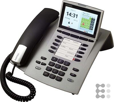 AGFEO ST45 Systemtelefon silber