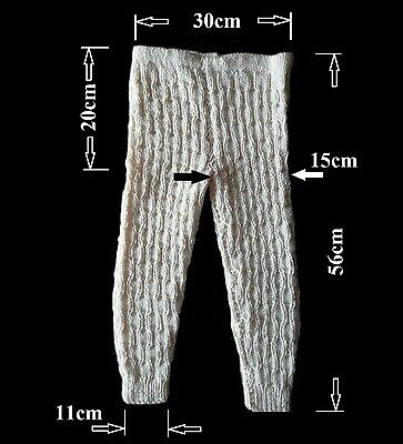 Hand Knitted Warm Pants For 4-5 Years Old Girl Or Boy New Handmade Unique
