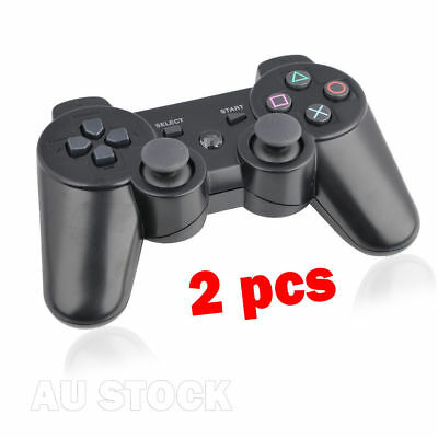 2xWireless Bluetooth Controller Dual Shock 7 Colors for PS3 Plastation3 AU Stock