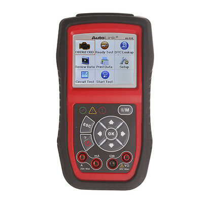 Autel AL539 Diagnostic Scanner Tool Car Auto Scan Engine OBD2 OBDII Code Reader