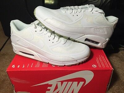 38ee317853 New Women's Nike Air Max 90 CMFT Premium Tape White Mint Candy Size 12 Glow