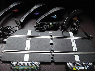 SELECT - SCALEXTRIC C8229 & C8230 ANALOGUE HAND CONTROLLERS - Various SPORT etc