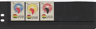 Ghana 1962  1st Anniv of Casablanca Conference   MLH