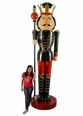 12ft Giant Standing Christmas Nutcracker Commercial (Ex Display)
