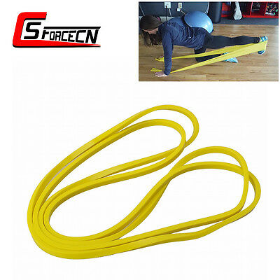 Sporting Gym Fitness Yoga Resistance Bands Rubber Workout Exercise Belt Trainers