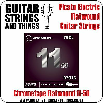 Picato 79XL FLATWOUND JAZZ 11-50 Extra Light Electric Guitar Strings