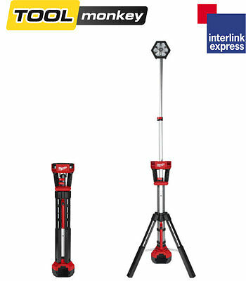 Milwaukee M18SAL-0  TRUEVIEW LED Stand Light 18 Volt Bare Unit - 4933451246