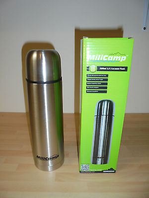 MiliCamp Stainless Steel Vacuum Flask 500ml