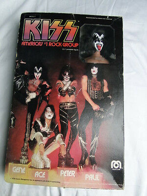 "Kiss Gene Simmons Mego Doll with box ""Muscle"" Version"