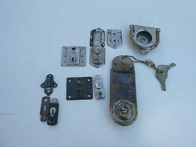 Vintage steamer truck latches & hardware