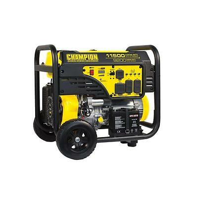 Champion 9200/11,500W Electric Start Portable Gas Generator- 100110