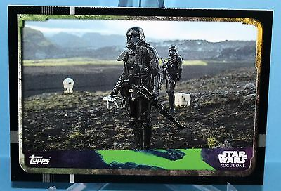 Topps Star Wars Rogue One Karte Nr.147