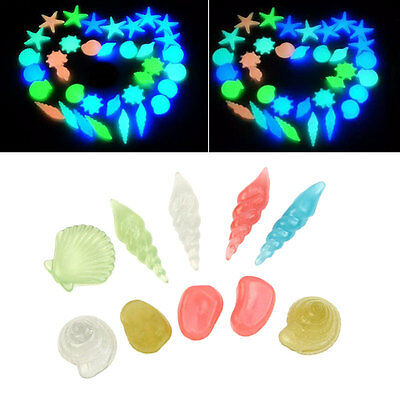 (10 pcs) pierre artificielle aquarium Lumineux