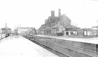 Photo Of Basford & Bulwell Station Nottingham 1900 Great Northern Railway