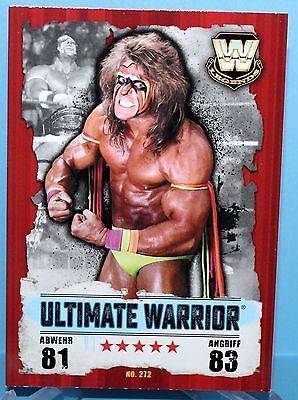 Topps WWE Slam Attax Takeover Karte Nr.272 Ultimate Warrior - Legends