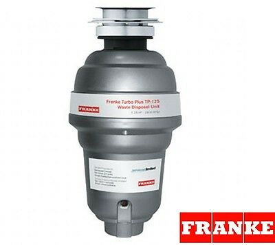 Franke Waste Disposal Unit Turbo Plus TP-125, Basso Switch NEW!!