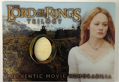 Eowyn's Golden Hall Dress Lord of the Rings Trilogy Chrome LOTR Costume Card