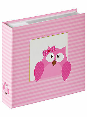 Walther Owlet Girl Pink 10x15 200 Fotos Baby Memo ME118R
