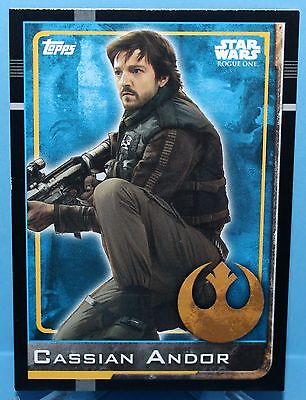 Topps Star Wars Rogue One Karte Nr.37 Cassian Andor