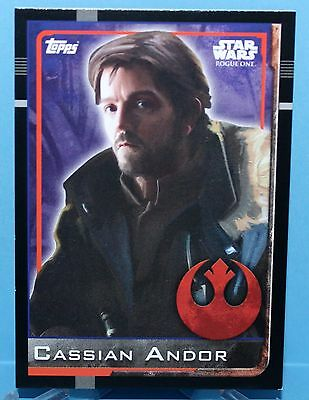 Topps Star Wars Rogue One Karte Nr.38 Cassian Andor