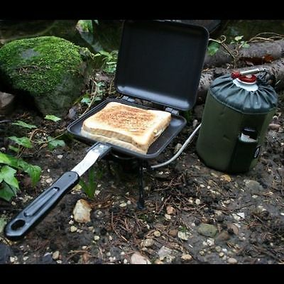 Ngt Bankside Sandwich Toastie Toaster Maker Carp Fishing Camping