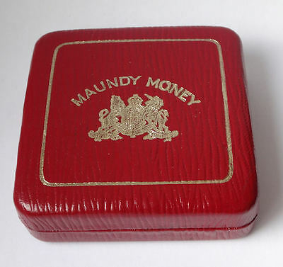 Maundy coin cased set 1965 QEII - 4 x genuine silver COINS - aUNC condition -903