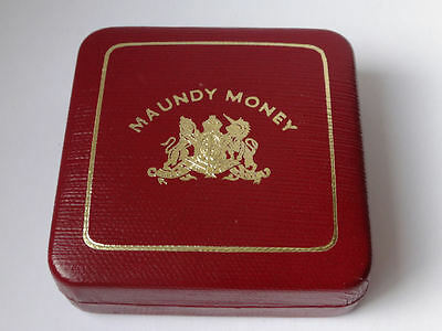 Maundy coin cased set 1978 QEII - 4 x genuine silver COINS - aUNC condition -902