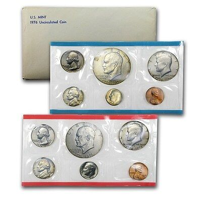 1976 United States Mint 12 Piece set -- Free Shipping