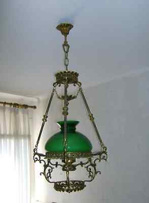 BEAUTIFUL   Chandelier . Bronze.