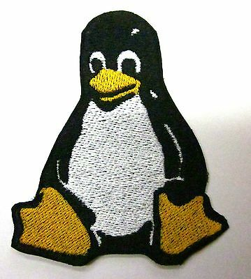 Linux Penguin patch Computer linux Iron on Patch  FREE NORTH AMERICA SHIPPING