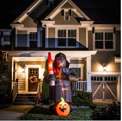Gemmy 9 FEET TALL Lighted Darth Vader Halloween Inflatable RETAIL $149.00
