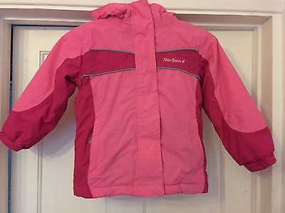 VGC Pink Peter Storm Girls Coat Age 5-6